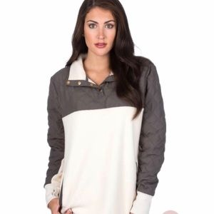 Tops - Quilted Sherpa Pullover